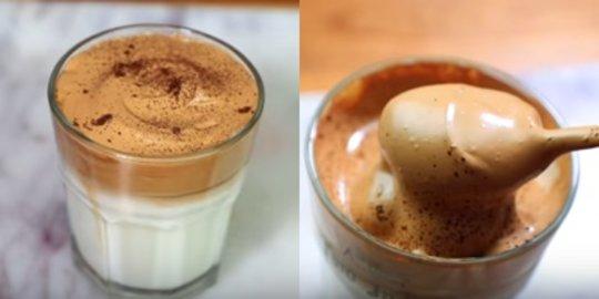 Bagaimana Membuat Dalgona coffee yang Enak Banget