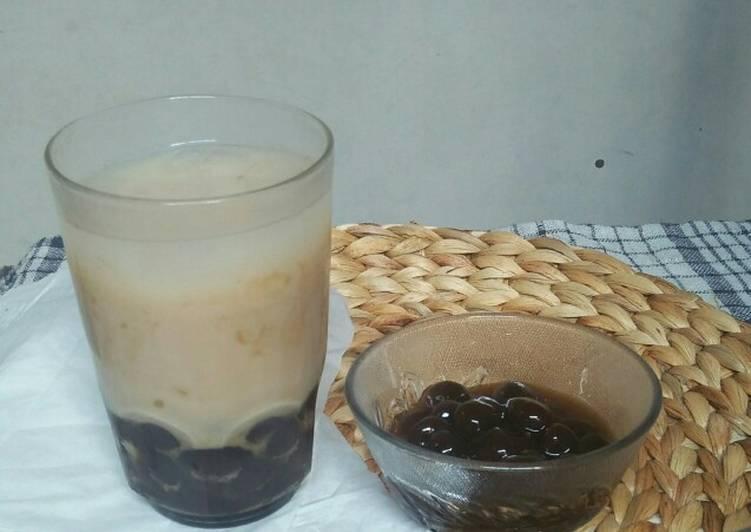 Bagaimana Menyiapkan Pearl bubble thai tea Anti Gagal