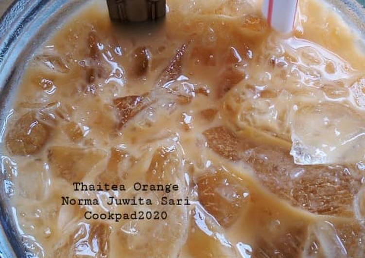 Cara Gampang Menyiapkan (25). Thaitea Orange Ice yang Enak