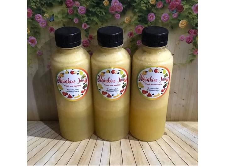 Cara Gampang Menyiapkan Diet Juice Pumpkin Orange Tomato Lemon Jambu Kristal Anti Gagal