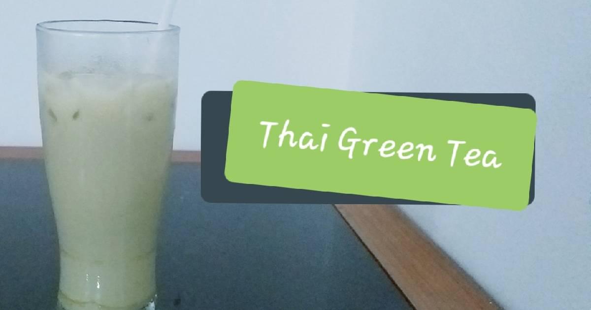 Cara Gampang Menyiapkan Thai Green tea #pr_recookminumandingi Anti Gagal