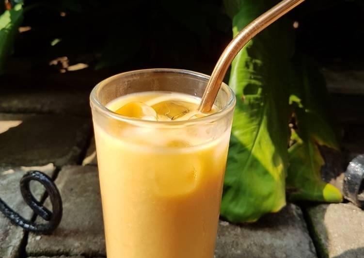 Cara Gampang Menyiapkan Thai Tea kw Anti Gagal