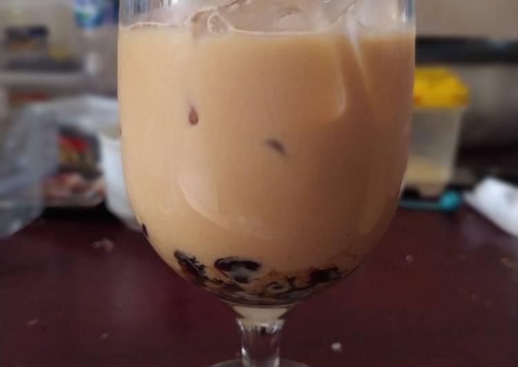 Resep Bubble thai tea Anti Gagal