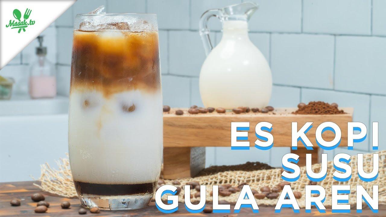 Resep Es kopi susu gula aren yang Lezat