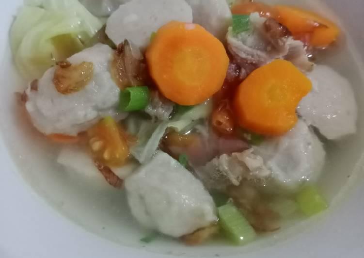 Resep Sup Bakso Sapi Anti Gagal